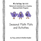 Easy as 1-2-3 (Seasonal Math Mats and Activities)