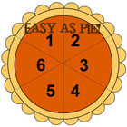 Easy as Pie Math Game and Skill Sheet