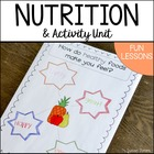 Eating Healthy With Fruits &amp; Veggies! {Nutrition &amp; Activity Unit}