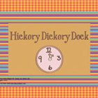 Ebook for Early Readers: Hickory, Dickory, Dock (for iPad/iPhone)