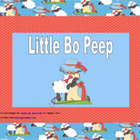 Ebook for Early Readers: Little Bo Peep (for iPad/iPhone)