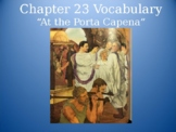 Ecce Romani I Chapter 23 Vocabulary PowerPoint