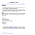 EcoRegions of Texas Technology Integration Science English