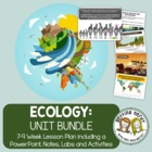 Ecology Bundled Unit:  PowerPoint and ALL Handouts