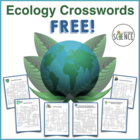 Ecology Crossword Puzzles - Set of Six - FREE!