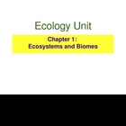 Ecology PowerPoint Presentation Unit 1 (1 of 3 Ecology units)