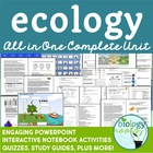 Ecology Unit Plan (35+ documents)