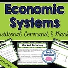 Economic Systems -- Traditional, Market, & Command