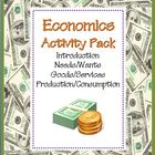 Economics Activity COMBO Pack: 8 NO PREP Printables