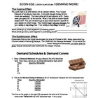 Economics Demand Lesson 2: Shifting Demand Curves, Determi