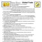 Economics - Global Trade Note Sheet
