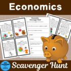 Economics Scavenger Hunt bonus matrix