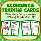Economics Vocab Cards