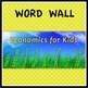 Economics Word Wall