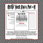 Edgar Allan Poe - Create Your Own POE-M Activity