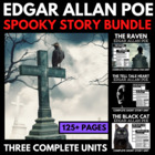 Edgar Allan Poe - Complete Halloween Spooky Short Story Unit