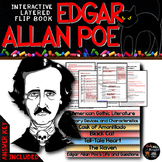 Edgar Allan Poe: Interactive Layered Flip Book