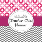 Editable Back to School Planner (Teacher Chic)