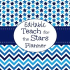 Editable Back to School Planner (Teach for the Stars)