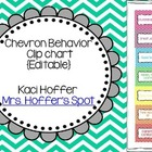 Editable Behavior Clip Charts {Chevron}