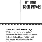Editable Book Report Form