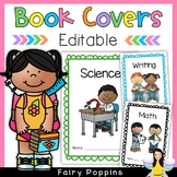 Editable Cover Pages (Workbook, Subject, Learning Area, Cl