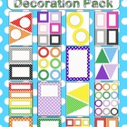 Editable Decoration Pack - Polka Dots