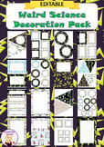 Editable Decoration Pack - Weird Science
