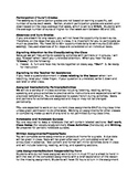 Editable Foreign Language Class Syllabus and Parent Letter