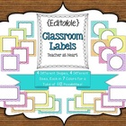 {Editable} Labels - Chevron