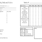 Editable Lesson Planning Template (excel)