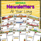 &quot;Editable&quot; Monthly-themed Newsletters
