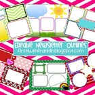 Editable Newsletter Outlines ~ FREEBIE