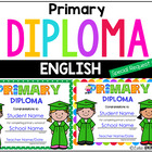 Editable Primary Diploma for Kenmont Montessori School