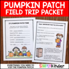Editable Pumpkin Patch Field Trip
