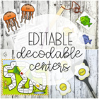 15 Editable Word Games