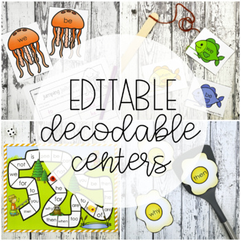 30 Sight Word Games EDITABLE