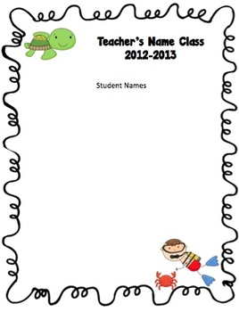 Editable Thematic Schedules and Class Lists