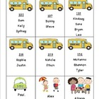 Editable Transportation List Freebie