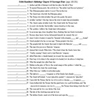 Edith Hamilton's Mythology Chapter 14 Scavenger Hunt (40 q) & KEY