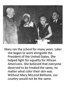 Education for All- The Story of Mary McLeod Bethune E-Book