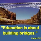 Education is about Building Bridges: Poster