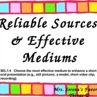 Effective Mediums &amp; Reliable Sources Powerpoint