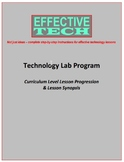Effective Tech Curriculum Level Lesson Progression & Lesso