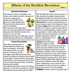 Effects of the Neolithic Revolution