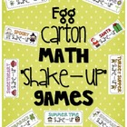 Egg Carton Math &quot;Shake Up&quot; Games