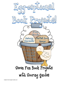 Egg-Ceptional Book Projects
