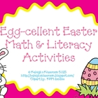 Egg-cellent Easter Math &amp; Literacy Activities
