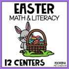 Egg-cellent Easter Math & Literacy Work Stations {10 Centers!}
