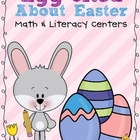 Egg-cited About Easter Math &amp; Literacy Centers